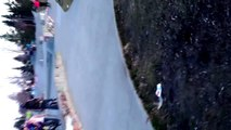 Skating the flat rail at castle downs skate park