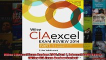 Wiley CIAexcel Exam Review 2014 Part 1 Internal Audit Basics Wiley CIA Exam Review
