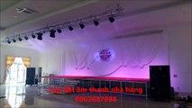 Tư vấn thiết kế dàn âm thanh đám cưới, bán dàn âm thanh đám cưới 0902587898