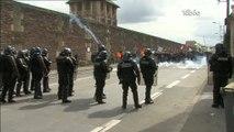Loi El Khomri : Forte mobilisation à la gare de Rennes