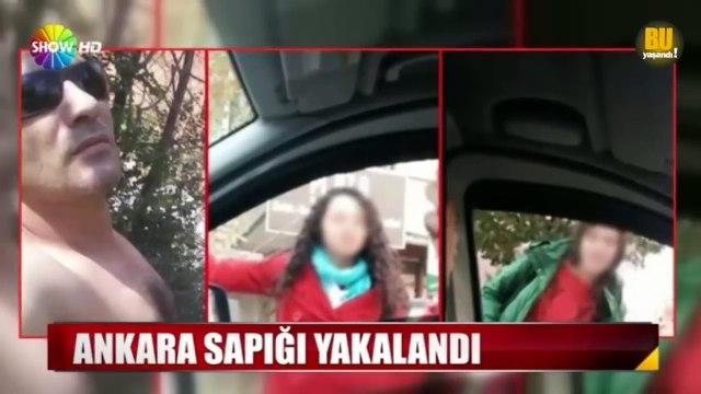 Kızlara CİNSEL ORGANINI Gösteren Ankara Sapığı