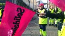 Grève des éboueurs à Saint-Quentin