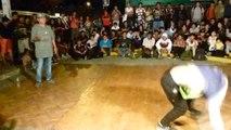 Bboy Kevin VS Bboy Aldeano/ Tierra de Bboys Rimac 13/02/2015/