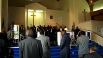First Pilgrims Baptist Church, Shouting, Praising....