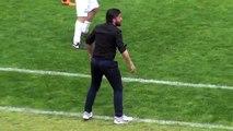 Gennaro Gattuso très agité sur le banc de touche