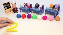 Peppa Pig School Learn To Count with Play Doh Numbers Learn Numbers 1 to 10 Playdough Part 3