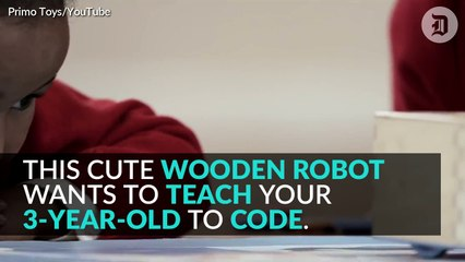 This cute robot teaches kids to code without screens