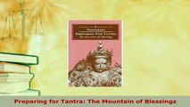 PDF Preparing for Tantra: The Mountain of Blessings
