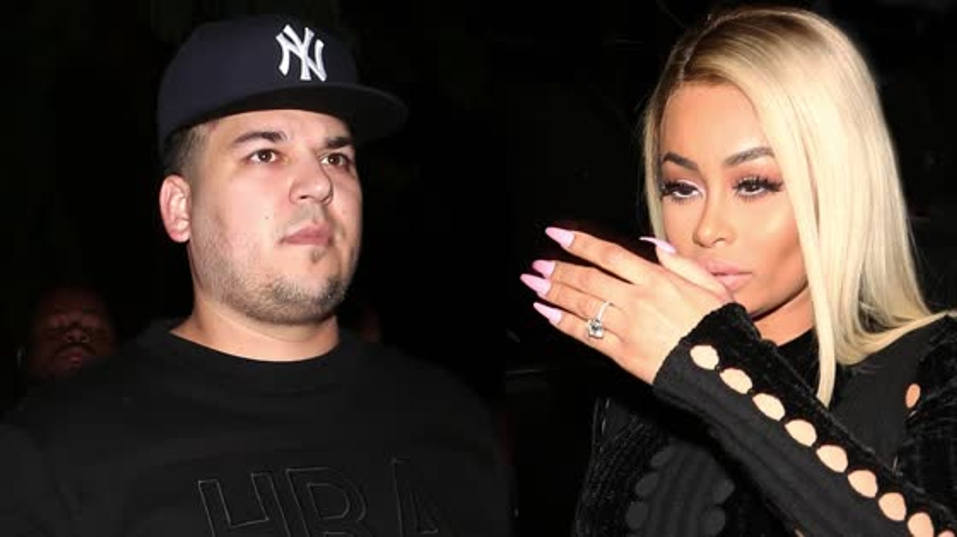 Rob Kardashian et Blac Chyna sont fiancés