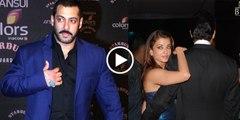 How Salman Khan Say Hello to Aishwarya Rai - Watch Aishwarya Rai Love Reaction!