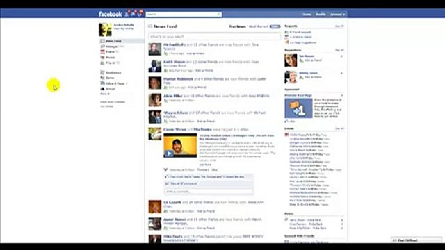 Organizing Friends List On New Facebook Layout