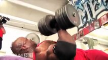 Ronnie Coleman Shoulders Workout for the Mr.Olympia