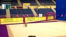 Elegua'13 - Amanda Acosta (mazas), Campeonato de Canarias Individual Base