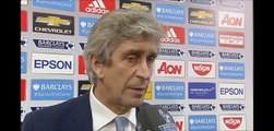 Manuel Pellegrini interview after PSG - Manchester City [ENG]