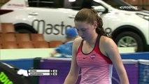 WTA Katowice: Camila Giorgi - Ekaterina Alexandrova: 2-1 (Özet)