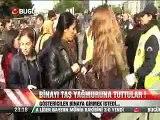 TURQUIE = les manifestants kurdes du pkk troublent l'ordre public