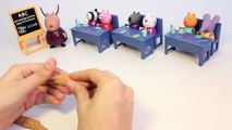 Peppa Pig School Learn To Count with Play Doh Numbers Learn Numbers 1 to 10 Playdough Part 8
