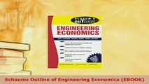 PDF  Schaums Outline of Engineering Economics EBOOK Download Full Ebook