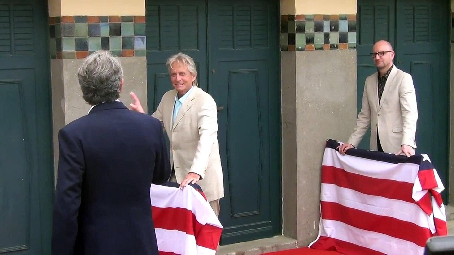Michael Douglas & Steven Soderberg - Planches de Deauville 2013