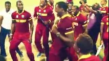 Celebrations of West Indies After Winning the World cup 2016 England vsWest