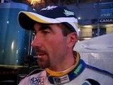 Luc Alphand après son 1er relais aux 24 Heures du Mans