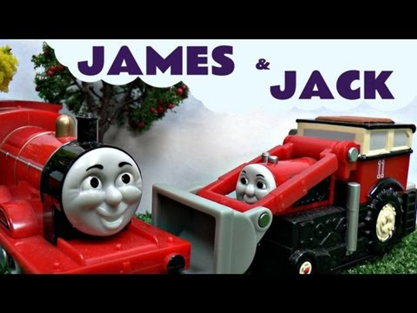 James Jack Percy Billy Elizabeth Thomas & Friends Trackmaster Sodor Kids Toy Train Set