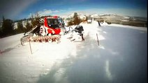 Mammoth Mountain - Top of Canyon Express, Down Old Comeback Trail to Goldrush Express