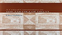 Download A Critical Commentary on  lt i gt The Taktika of Leo VI lt  i gt   Dumbarton Oaks Studies