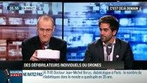 Santécardiaque: Les défibrillateurs et drones du futur - 07/04