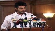 Shocking! Ajith Kumar's Comment Against Nadigar Sangam Cricket Match