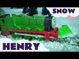 Snow Clearing Henry Trackmaster Kids Thomas The Tank Engine Toy Train Set Thomas the Tank Engine