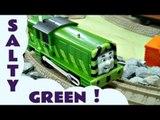 Trackmaster Green Salty Kids Thomas The Tank Engine Toy Train Set Thomas The tank Engine