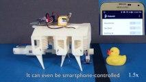 Le MIT imprime des robots controlables par iPhone !
