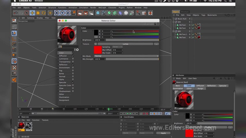 Netflix Style Cinema 4D & After Effects Intro Template - FREE DOWNLOAD