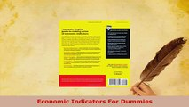 Download  Economic Indicators For Dummies PDF Full Ebook