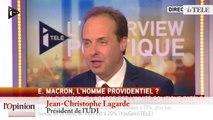 Jean-Christophe Lagarde sur Emmanuel Macron : «Quand on est ministre, il faut gouverner maintenant !»