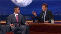 "John Cena Teaches The Audience To Sing ""John Cena Sucks!"" - CONAN on TBS"