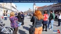 Flash Mob Rueda de Casino Cluj Napoca Romania 2016