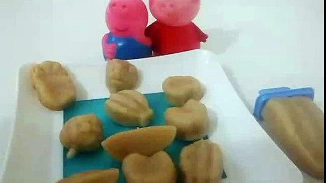 peppa pig,play doh fruits em portugues