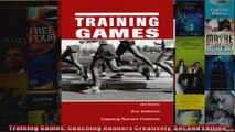 Read  Training Games Coaching Runners Creatively Second Edition  Full EBook