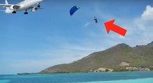 Il débute en kitesurf et s'envole à plus de 15m de la mer !