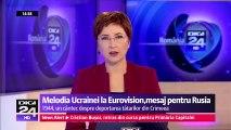 """Ucraina se foloseşte de Eurovision pentru a da o palmă Rusiei pentru anexarea Crimeei și susținerea separatiștilor din estul ucrainean. """"1944"""" şi se referă la deportarea tătarilor din Crimeea la ordinul lui Stalin."""