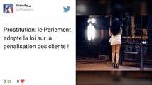 ZAP Tweets Actu : Prostitution : Le Parlement adopte la pénalisation des clients