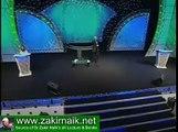 Zakir Naik Q&A-258  -   A man pointing a mistake in Islam