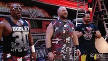 Rhyno returns to join the ECW Originals against The Wyatt Family Raw, December 2, 2015