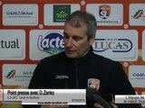 (J33) Laval - Sochaux, l'avant-match avec D. Zanko
