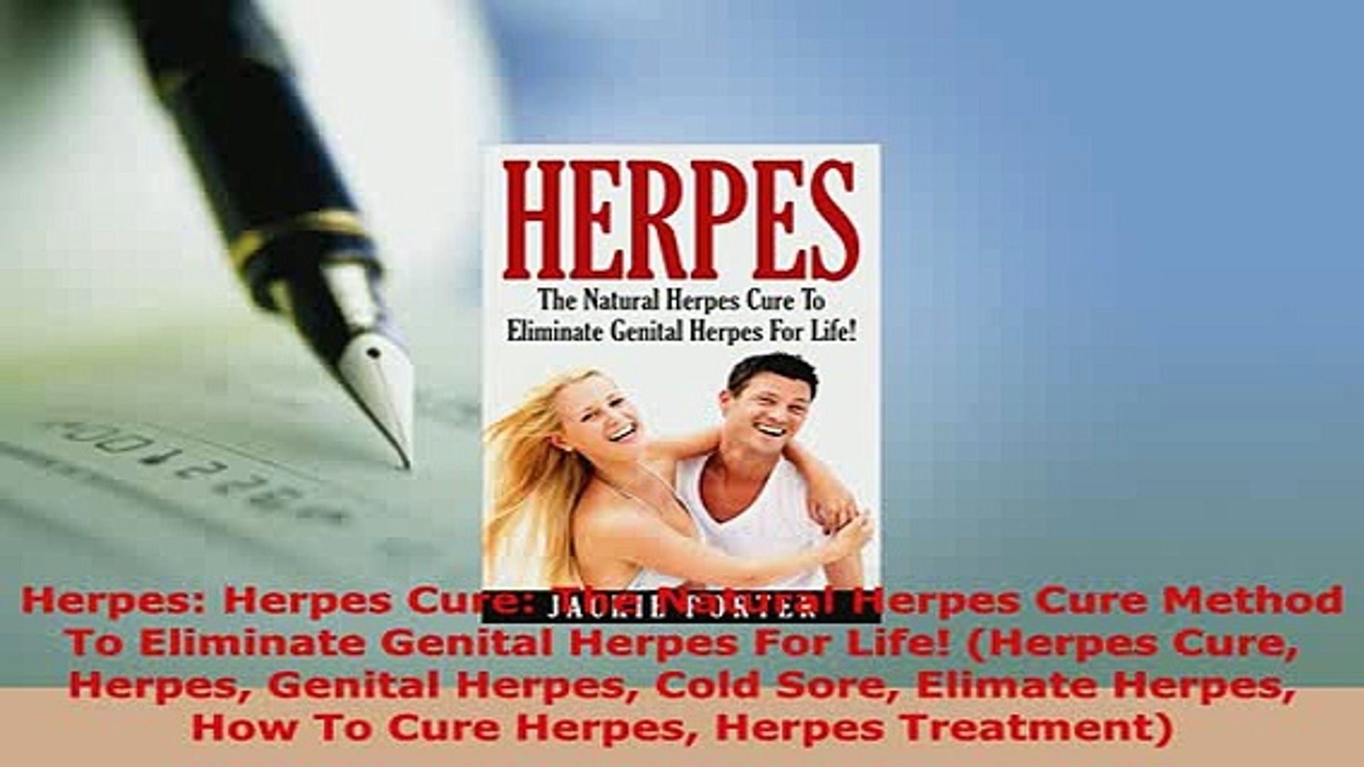 PDF Herpes Herpes Cure The Natural Herpes Cure Method To Eliminate Genital  Herpes For Life Free Books