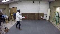 Le premier drone qui évite les coups d'épée
