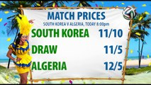 World Cup Update Day 11, South Korea V Algeria | Betfred TV