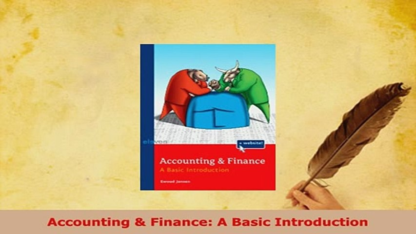 PDF  Accounting  Finance A Basic Introduction Read Full Ebook